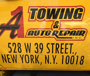 A1 towing in manhattan